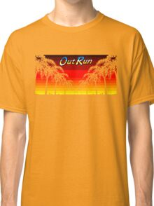 OUT RUN - LAST WAVE Classic T-Shirt