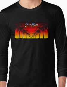 OUT RUN - LAST WAVE Long Sleeve T-Shirt