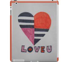sixties love iPad Case/Skin