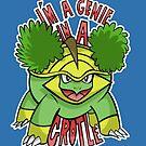 PokéPun - 'Genie In a Grotle' by Alex Clark