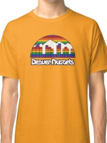 DENVER NUGGETS BASKETBALL RETRO Classic T-Shirt