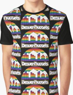 DENVER NUGGETS BASKETBALL RETRO Graphic T-Shirt