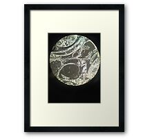 Minerals under the Microscope Framed Print