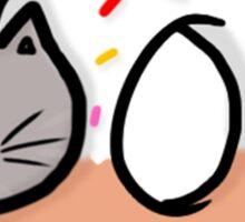 donut cat Sticker