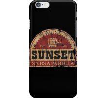 Sunset Sarsaparilla iPhone Case/Skin