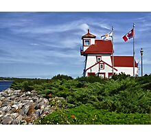 Fort Point Lighthouse - Nova Scotia Photographic Print