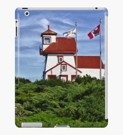 Fort Point Lighthouse - Nova Scotia iPad Case/Skin