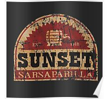 Sunset Sarsaparilla Poster
