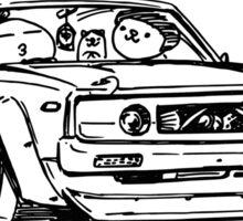 Crazy Car Art 0017 Sticker