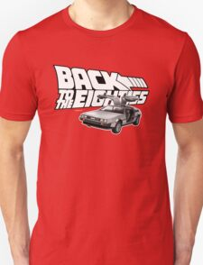 Delorean Back to the Future 80s Style Unisex T-Shirt
