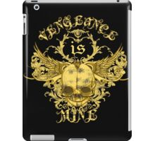 Vengeance Is Mine iPad Case/Skin
