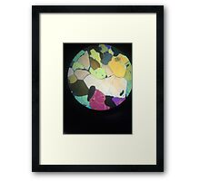 Colour In Minerals  Framed Print