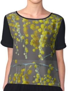 wattle ...  Chiffon Top
