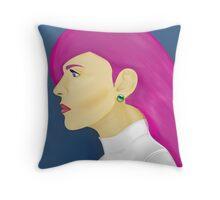 Painting Series - Jessie  Throw Pillow