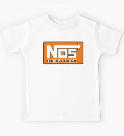 Nos Energy Drink Logo (Nitrous Oxide Systems)  Kids Tee