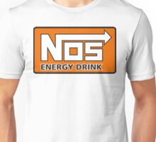 Nos Energy Drink Logo (Nitrous Oxide Systems)  Unisex T-Shirt