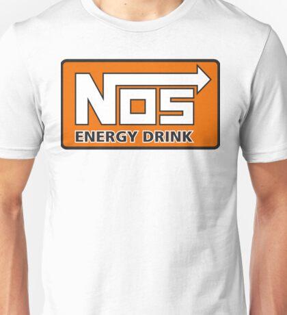 Nos Energy Drink Logo (Nitrous Oxide Systems)  Unisex T-Shirt
