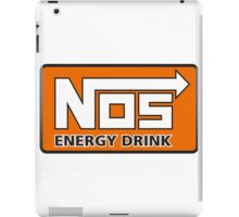 Nos Energy Drink Logo (Nitrous Oxide Systems)  iPad Case/Skin