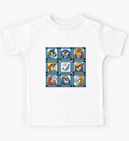 Megaman 2 Boss Select Kids Tee