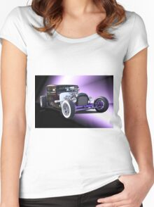 1928 Dodge 'Hot Rod' Coupe Women's Fitted Scoop T-Shirt