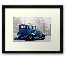 1930 Ford Tudor Sedan Framed Print