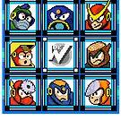 Megaman 2 Boss Select by Funkymunkey