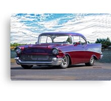 1957 Chevrolet Bel Air 'Wine Country' Canvas Print