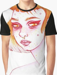 SKIN FLARE, DON'T CARE!  Graphic T-Shirt