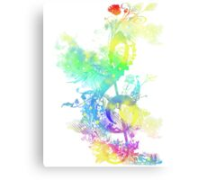 a key to hapiness Canvas Print