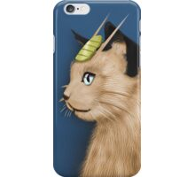 Painting Series - Meowth iPhone Case/Skin