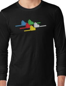 the houses (settlements) of catan Long Sleeve T-Shirt