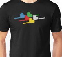 the houses (settlements) of catan Unisex T-Shirt