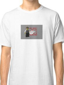 Love doesn't come with a set of instructions Classic T-Shirt