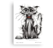 Ugly the cat Canvas Print