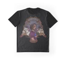 The Big Cat Graphic T-Shirt