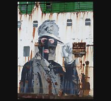 Graffiti on the side of a Ship Unisex T-Shirt