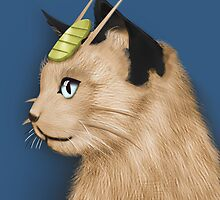 Painting Series - Meowth by Alex Clark