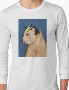 Painting Series - Meowth Long Sleeve T-Shirt