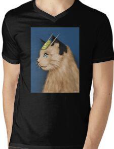 Painting Series - Meowth Mens V-Neck T-Shirt