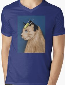 Painting Series - Meowth Mens V-Neck T-Shirt