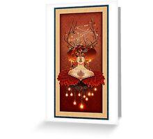 Autumn Spirit  Greeting Card