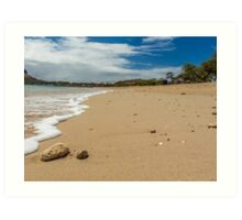 Little stones on the beach Art Print