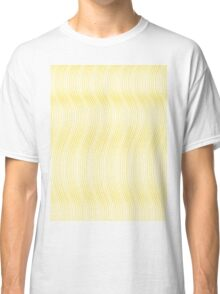 Pattern 003 Gold Strands Waves Classic T-Shirt