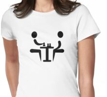 Chess player Womens Fitted T-Shirt