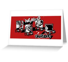 P5 - Wanted Greeting Card