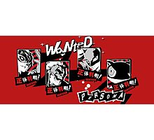 P5 - Wanted Photographic Print