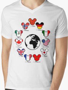 Epcot Mens V-Neck T-Shirt