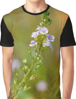 Veronica, Water Speedwell Flower Graphic T-Shirt