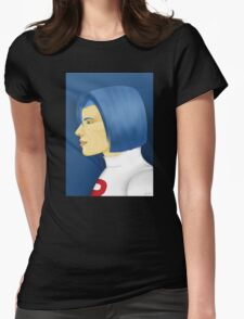 Painting Series - James Womens Fitted T-Shirt