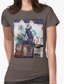 Graffiti, Rust and inherent beauty Womens Fitted T-Shirt